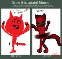 Art Difference by FlameFiggleBottom