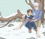 Jack Frost and Jamie Bennett by nauseto