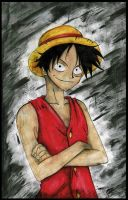 Monky D Luffy by MissSeras