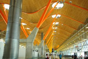 Barajas airport Madrid 1 by wildplaces