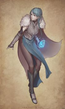 Mage Warrior by Marfrey