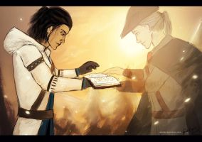Haytham's Journal by camibee