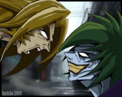 Sabertooth Vs Joker by xericho