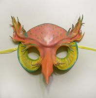 Leather Owl Mask Retro Colors by teonova
