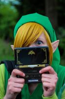 Link with a Zelda 3DS by Jaruga