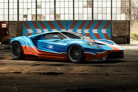Ford GT Rocket Pony by KlausAuto