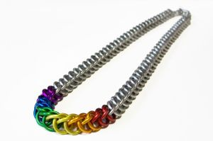 Half Persian Rainbow Necklace, by Gibbtall