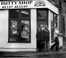 The Butty Shop by photonig