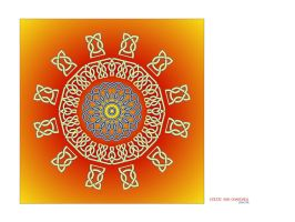 Celtic Sun Mandala by love1008