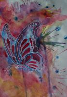 Blue butterfly by FranciscaMeena