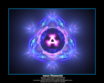 neon filaments by fraterchaos