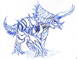 TFP version -  Dinobot Slug alt mode by winddragon24