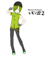 Remon Kumono by replica-luna