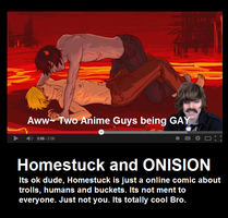 Homestuck and ONISION by peppermix14