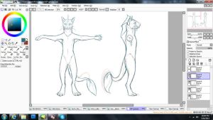 tGP Alien Cat species wip by Soulphur