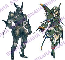 Butterfly Armor by Bnaha