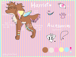 Harriet 2012 reference sheet .:CURRENT:. by RoxyCockerSpaniel
