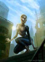 Spiderwoman by Concept-Art-House