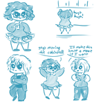 i really love drawing chibis okay by valwyrie
