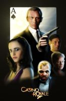 Casino Royale '2006' - Theatrical One-Sheet by violinmerchant