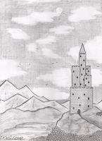Lonely castle by RoxyCloud