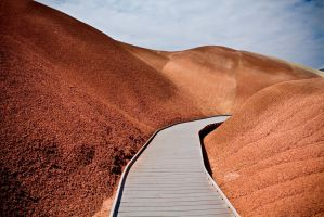 Painted Hills by Spartan-Mullet