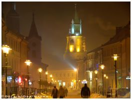 +Lublin in Snow+ by Dra-Matha