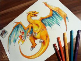 Charizard by Acayth