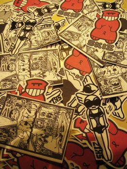 New paper : New stickers ++ by abys-kis