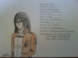 Attack on Titan_OC_4-I finally gave her a name... by Pera2401