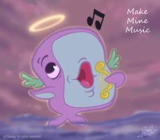 50 ChibisDisney: MakeMineMusic by princekido