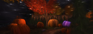 Autumn Pumpkins by RavensSpell