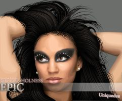 Nicole Holness by Uniquedee
