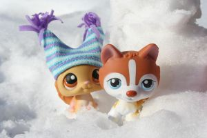 Winter Friends by Dellessanna