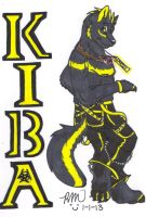 Kiba's Badge by RayaWolf
