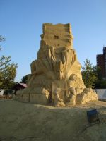Sand art in burgas 36 by tonev