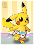 Baby Pikachu's diaper change - Part 3 by Veemonsito