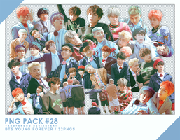PNG PACK#28 -  BTS Forever 32PNGs - By Yangyanggg by Yangyanggg