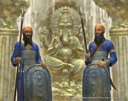 Disciples of Ganesh by jasonjuta