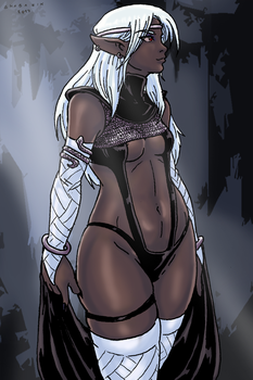Drow Queen by Shabazik