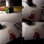 Frozen Anna Elsa (Steps 1-4) by SummerBaby01
