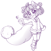 Join.me Chibi Sketch by Crystal-Comb