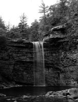 Awosting Falls at Minnewaska State Park, NY by highlandglamour