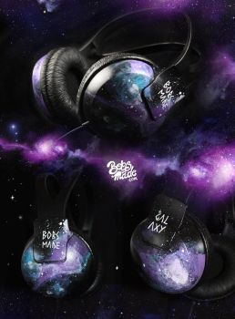 Galaxy Headphones by Bobsmade
