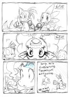 The Race is On: Pg 2 -Sketch- by ss2sonic