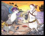Pirate Ferret Friend Robbery by natamon