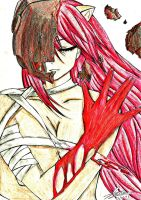 Elfen Lied-Lucy by Why-Just-Why