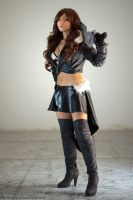 Squall Leonhart Female Dissidia by LittleRinoa