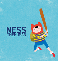 Ness the human by iamtoz