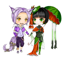Commission: Kit and Liling by Mimimoma